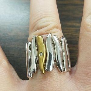 Steelx brand stretchy ring!